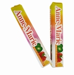 Fruit-tella met label